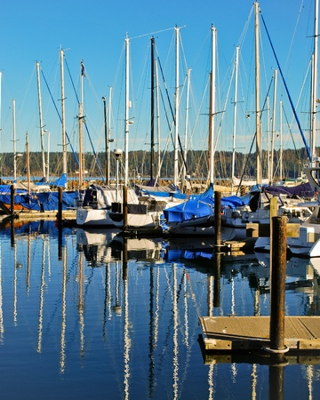 John Wayne Marina in Sequim, Washington