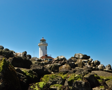 Point Wilson Lighthouse in Port Townsend Washington