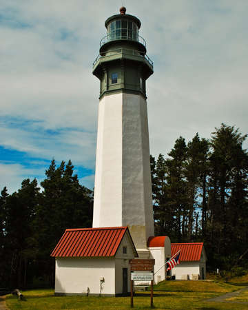 The Grays Harbor Lighthouse also known as the Westport lighthouse is the tallest in Washingtin state at 107 fet tall.