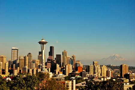 Seattle skyline Stock fotó