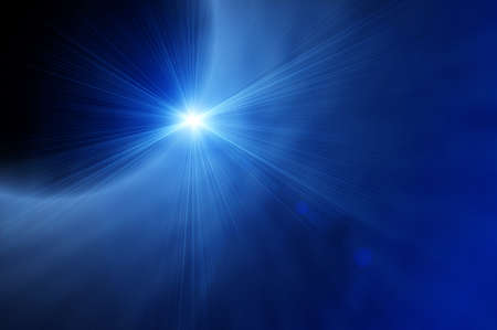 irradiate: bright bkue sun