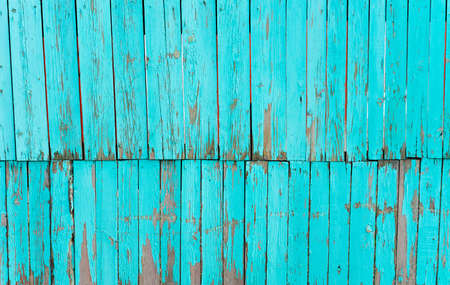Old shabby painted fence  Rural abstract backgrounds