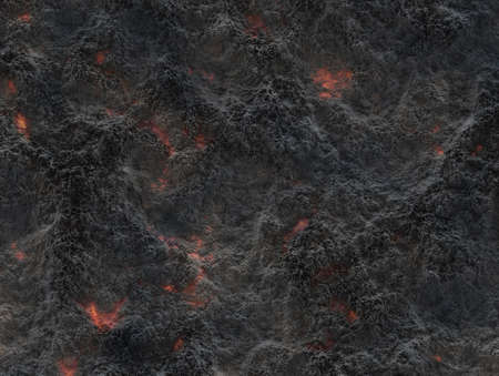 solidified: eruption volcano. solidified lava texture Stock Photo