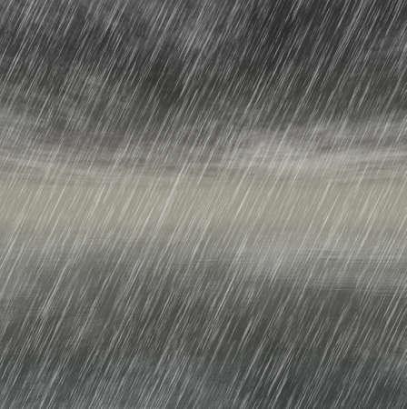 Milieux pluie d'orage par temps nuageux Banque d'images - 25060089