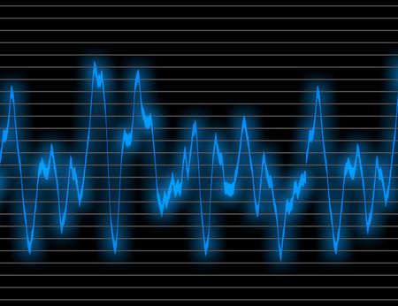 blue wave form backgrounds