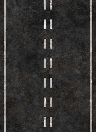 road marking: vertical striped line of a road. highway striping