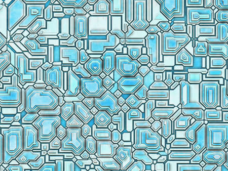 conglomeration: futuristic abstract backgrounds  digital smooth texture Stock Photo