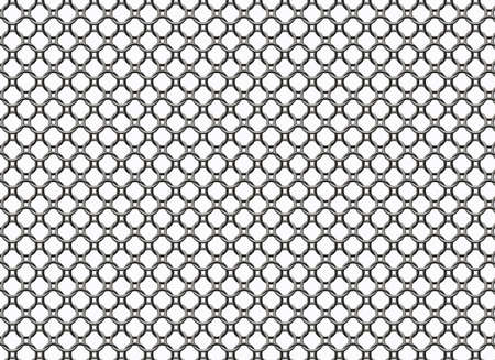 metal grid backgrounds with round cell photo