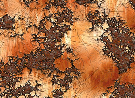 corroded: metal rusty texture. painted