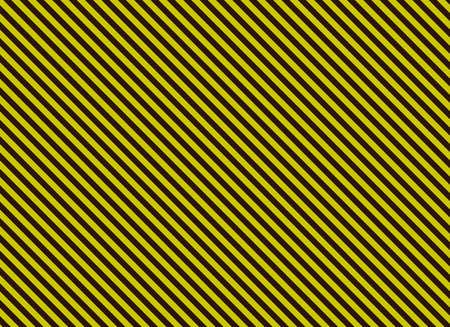 diagonal stripes: Blank alternation yellow and black diagonal stripes Stock Photo