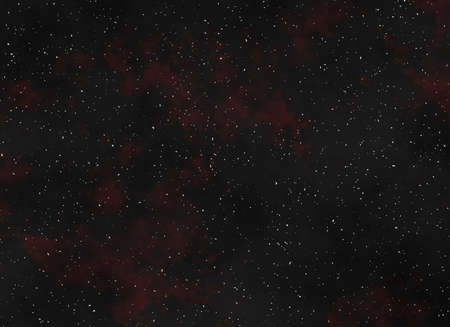 night sky covered with many bright stars photo