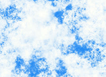 spaciousness: high resolution clouds on blue sky  Stock Photo