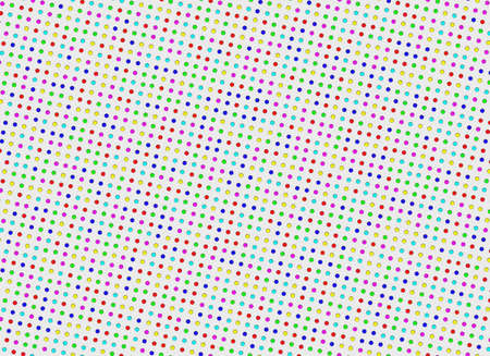 variegated: multicolored bright polka dots pattern  Abstract backgrounds Stock Photo