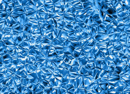 uncouth:  relief crystal backgrounds. blue colored