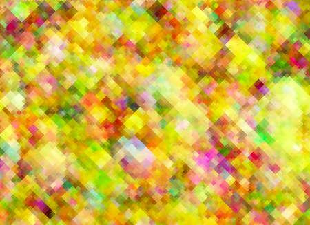 혼돈 배열에서 여러 가지 빛깔의 밝은 픽셀 텍스처 스톡 콘텐츠