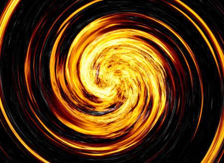 irradiate: twirl of bright explosion flash