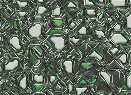 conglomeration: futuristic abstract digital smooth texture