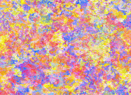 chaotical: Abstract Pattern from Multicolored Plaster Backgrounds Stock Photo