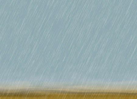 曇りの天候で雨嵐背景