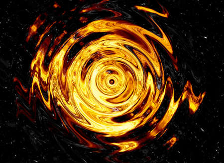 twirl of bright explosion flash on black backgrounds  fire burst photo