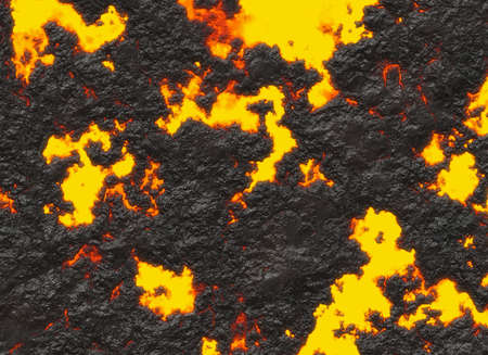 solidified: solidified lava texture of eruption volcano