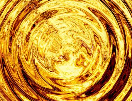 twirl of bright explosion flash. fire burst Stock Photo
