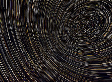 starlit: Beautiful star trail image during at night