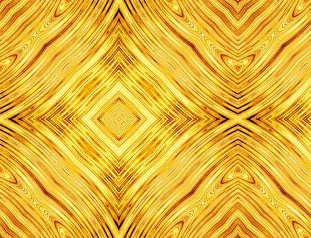 volumetric: abstract pattern of golden symmetrical square