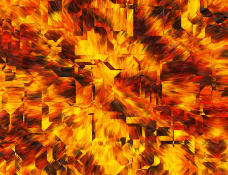 abstractionism: Abstract Bright Fire Burst Backgrounds with techno transparent glass Stock Photo
