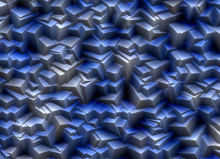 uncouth: mountains from relief blue stones texture Stock Photo