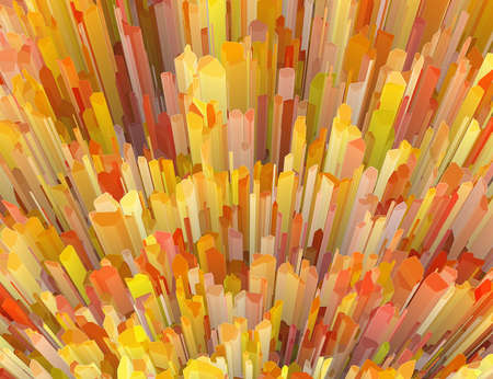 scarp: multicolored crystal burst abstract texture