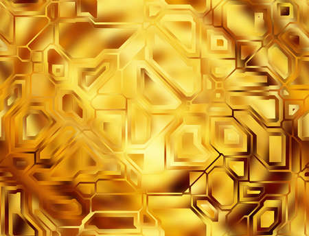 futuristic abstract golden tech backgrounds. digital smooth texture photo