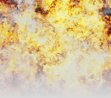 conflagration: bright explosion fire burst and smoke backgrounds