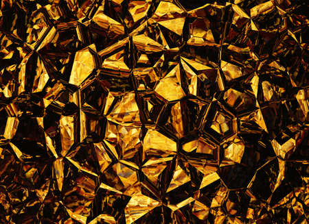 uncouth: golden colored relief crystal backgrounds