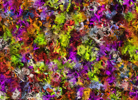 chaotical: Abstract Pattern from Multicolored oil color Backgrounds