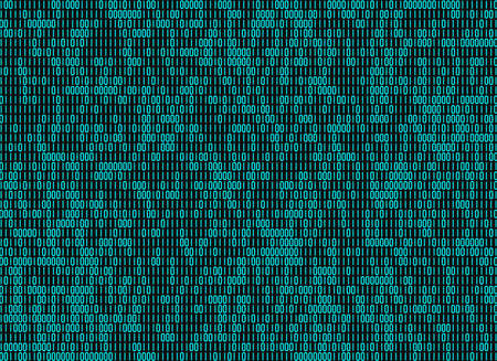 matrices: information binary code backgrounds Stock Photo