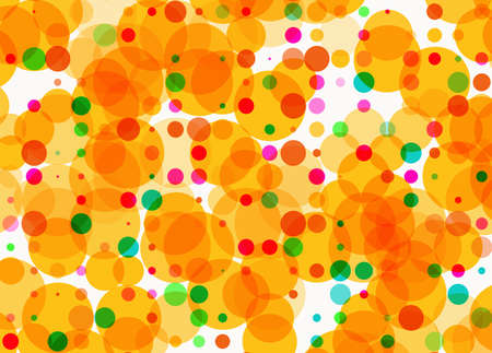 rounds: Holiday multicolored rounds bokeh backgrounds in Chaotic Arrangement Stock Photo
