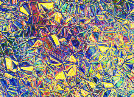 uncouth: relief shining multicolored crystal transparent glass backgrounds
