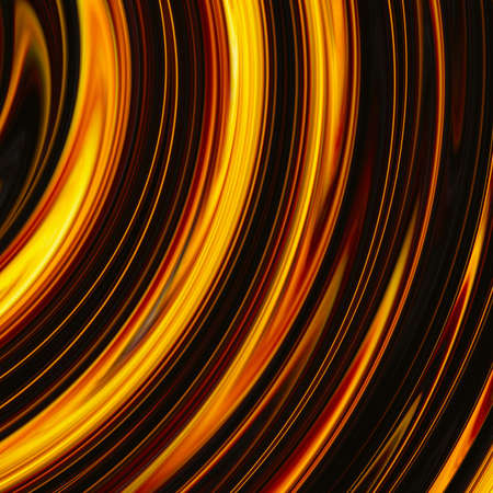 irradiate: curled bright explosion rays on black backgrounds. motion blur effect