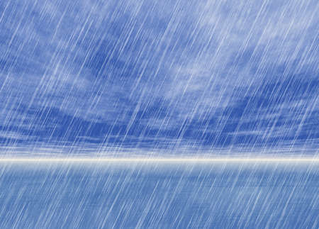 rain: rain storm backgrounds in cloudy weather Stock Photo