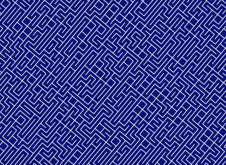 難問の迷宮。行経路のパターン 写真素材