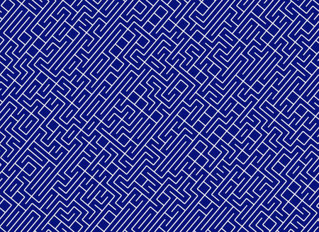 conundrum labyrinth. lines path pattern