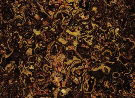 arte abstrata: marrom abstrato ondulado linhas fundos. arte abstrata