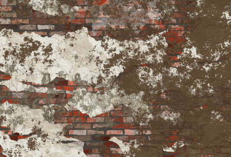 negligent: old hi-res red brick wall pattern