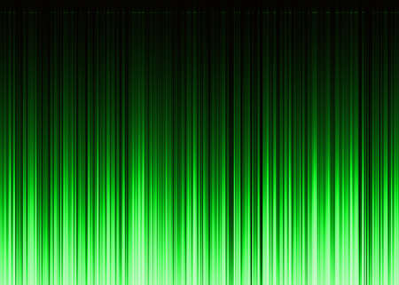 oscillograph: waveform green pattern with copy space