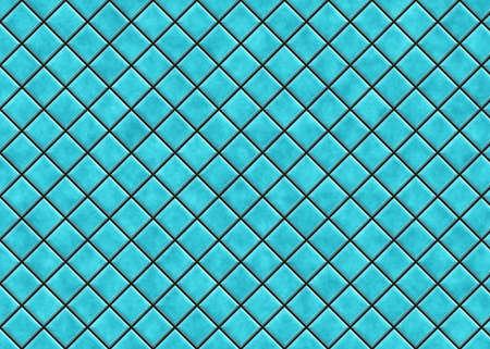 ceramic tile: many bright blue square ceramic tile. pattern texture