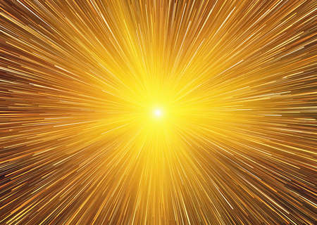 outburst: bright explosion fire speed burst backgrounds in space Stock Photo