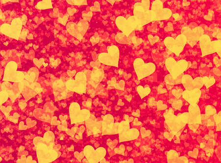 speckled: many speckled hearts backgrounds. Holiday symbol