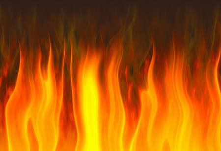 赤い炎。テクスチャ背景 写真素材