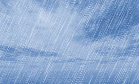 rainy: rain storm backgrounds in cloudy weather Stock Photo